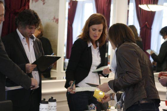 Die Jury 2013 bei der Arbeit.