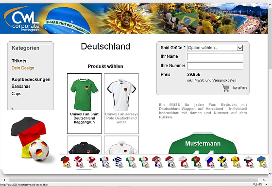 Footissimo switcher deutschland werbeartikel nachrichten wa media