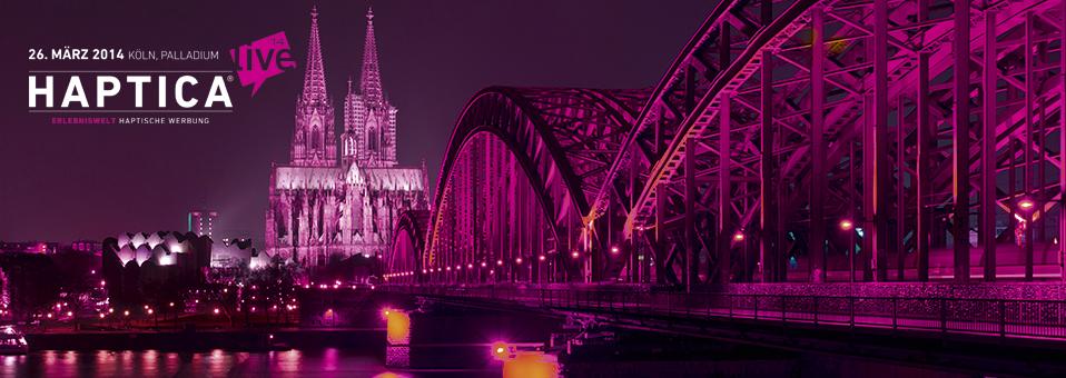 HapticaLive Koeln - HAPTICA® live '14 öffnet in zwei Wochen ihre Tore