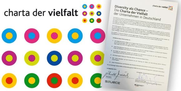 """charta source 580x294 - Source unterzeichnet """"Charta der Vielfalt"""""""
