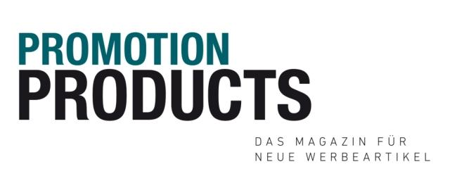 Promotion Products – Das Magazin für neue Werbeartikel Logo
