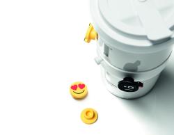 Emoji Plug Ons für Mahlwerck Coffee2Go Detail 1 - Am Anfang war das :-)